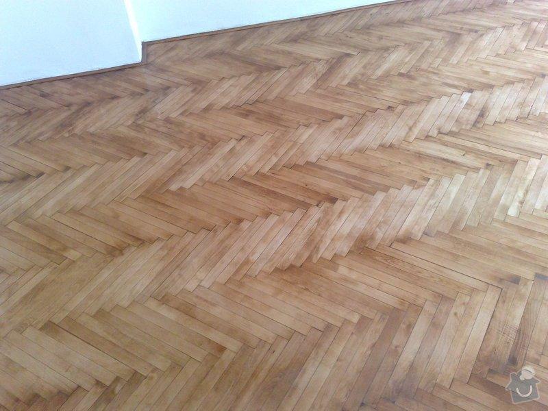 Pokládka podlahy - dvě místnosti á 18 m2: 005