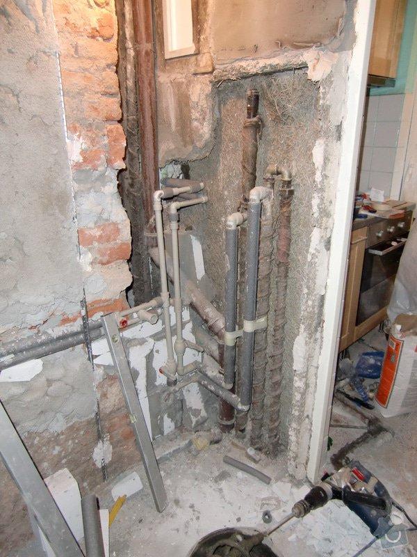 Renovace koupelny: voda