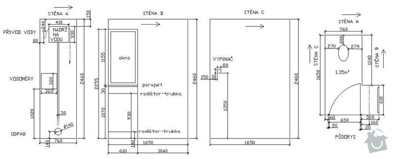 Kopmpletní rekonstrukce WC: vykresy_WC