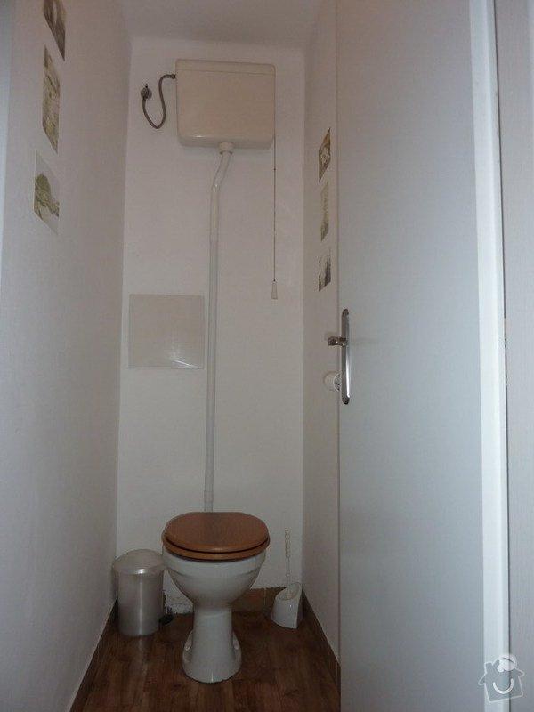 Kopmpletní rekonstrukce WC: WC
