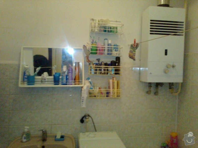 Rekonstrukce zděné koupelny a WC: koupelna_0461