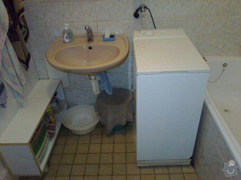 Rekonstrukce zděné koupelny a WC: koupelna0462