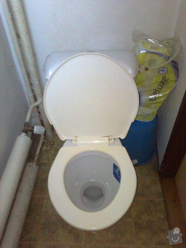 Rekonstrukce zděné koupelny a WC: wc0463