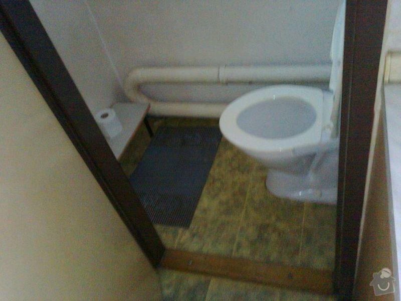 Rekonstrukce zděné koupelny a WC: wc0466