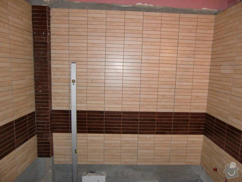 Renovace koupelny: obkladani