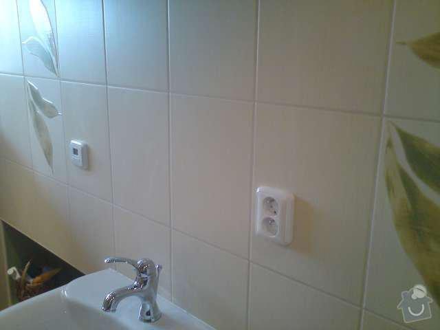 Výměna elektroinstalace,montáž bodových světel,el. podlahové topení: DSC00315