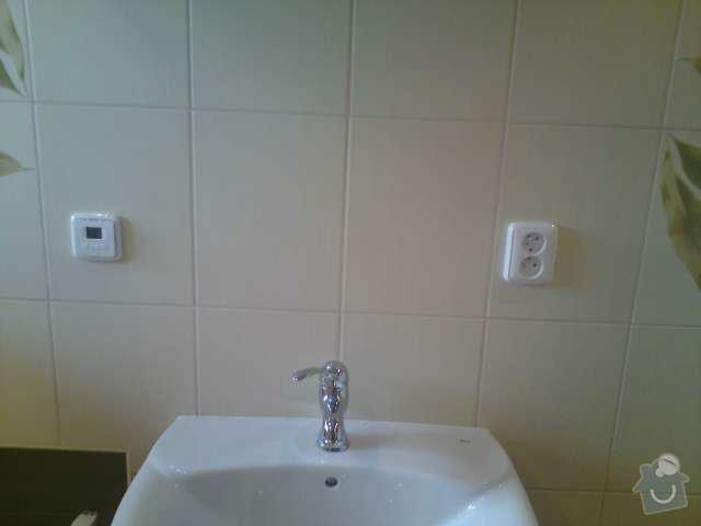 Výměna elektroinstalace,montáž bodových světel,el. podlahové topení: DSC00314