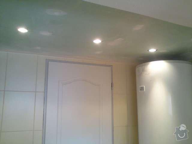 Výměna elektroinstalace,montáž bodových světel,el. podlahové topení: DSC00313