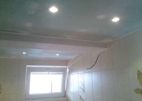 Výměna elektroinstalace,montáž bodových světel,el. podlahové topení