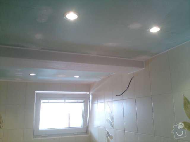 Výměna elektroinstalace,montáž bodových světel,el. podlahové topení: DSC00312