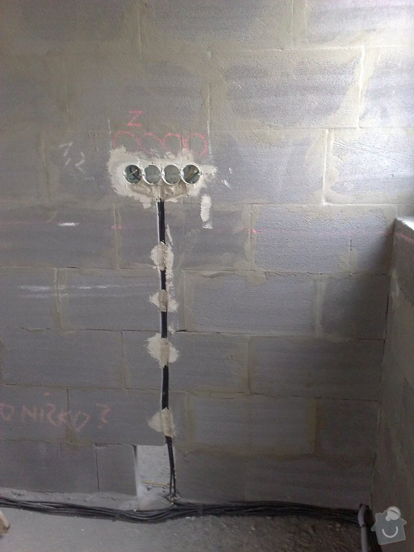 Provedení nové elektroinstalace v RD: 005
