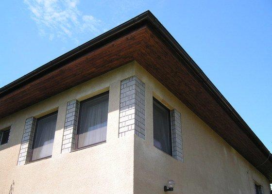 Podbití střechy palubkami
