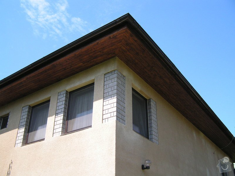 Podbití střechy palubkami: PICT0255