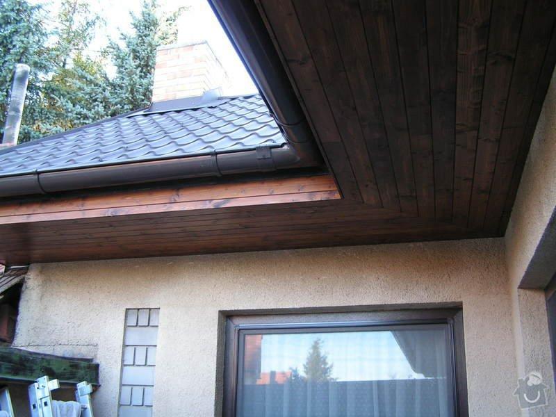 Podbití střechy palubkami: PICT0230