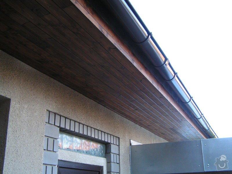Podbití střechy palubkami: PICT0232
