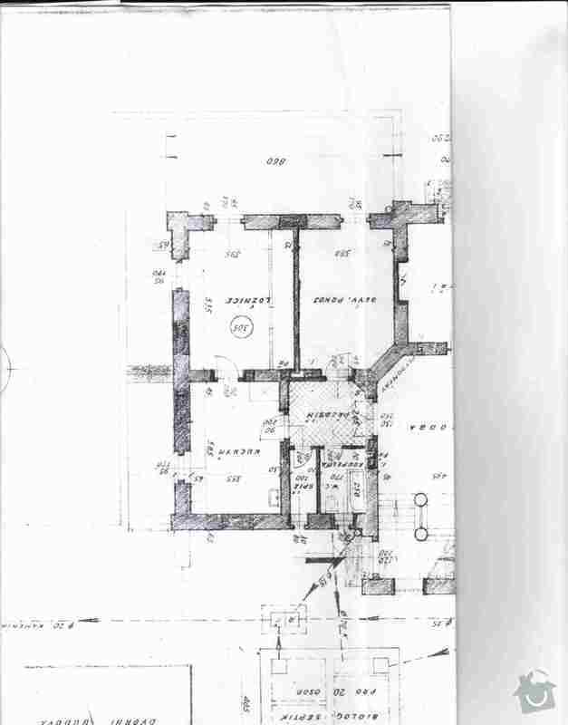 Rekonstrukce kuchyně a koupelny: prizemi_byt