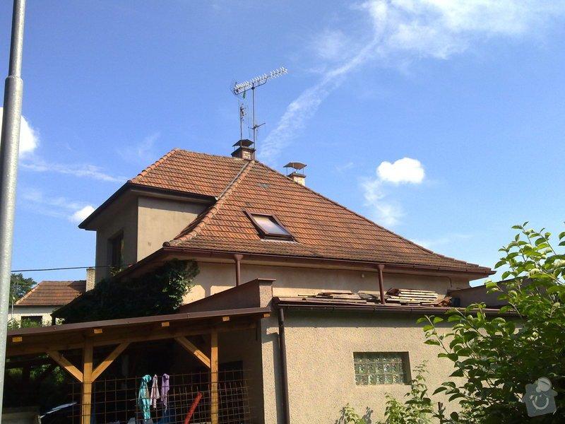 Rekonstrukce střechy + zvednutí podkroví: 10072011329