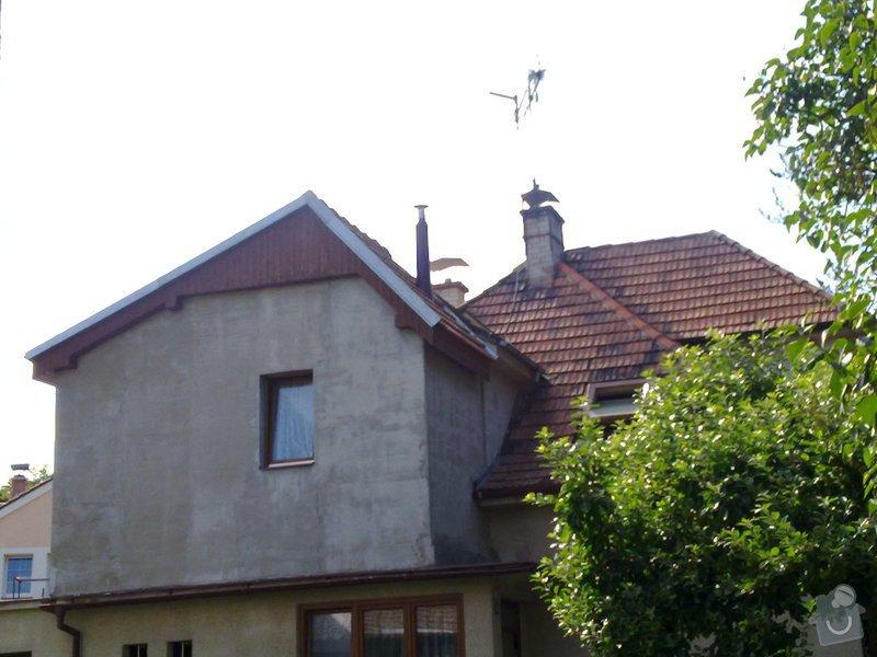 Rekonstrukce střechy + zvednutí podkroví: 10072011330