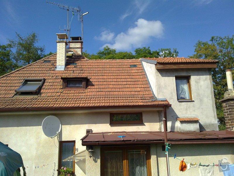 Rekonstrukce střechy + zvednutí podkroví: 10072011331
