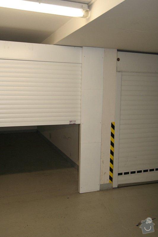 Garážová vrata v podzemní garáži: garaz_kryci_plech