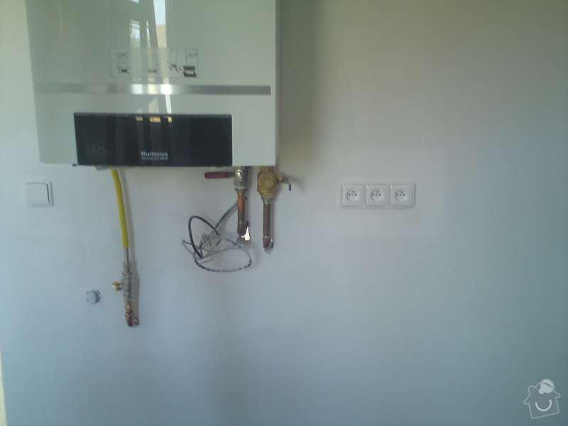 Elektroinstalace rodinný dům Štěnovický Borek: DSC00327