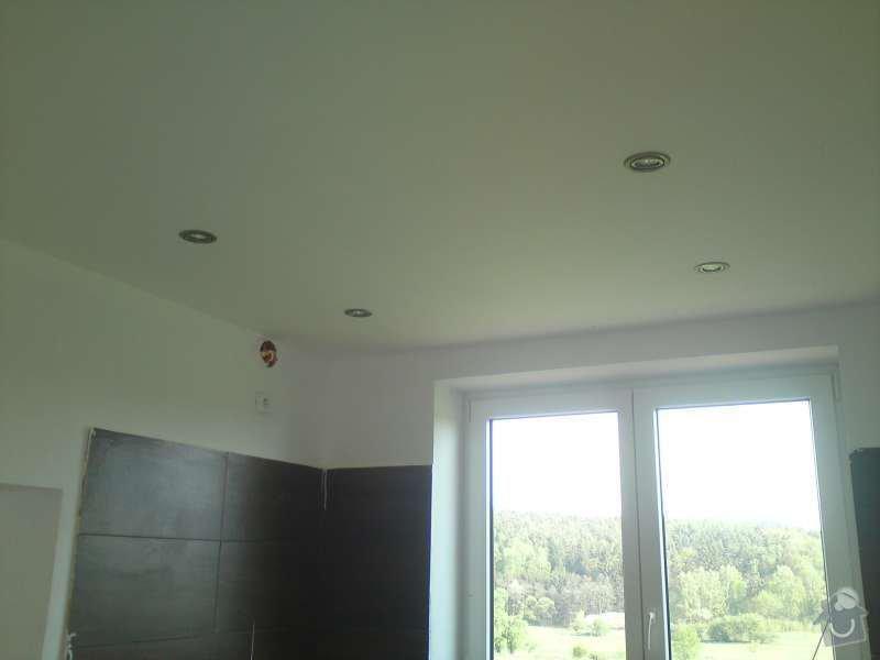 Elektroinstalace rodinný dům Štěnovický Borek: DSC00324