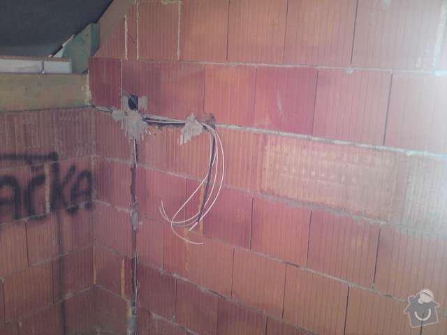 Elektroinstalace rodinný dům Štěnovický Borek: DSC00201