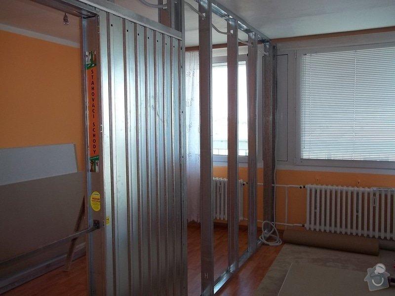 SDK příčka se zašupovacími dveřmi: 104_0385