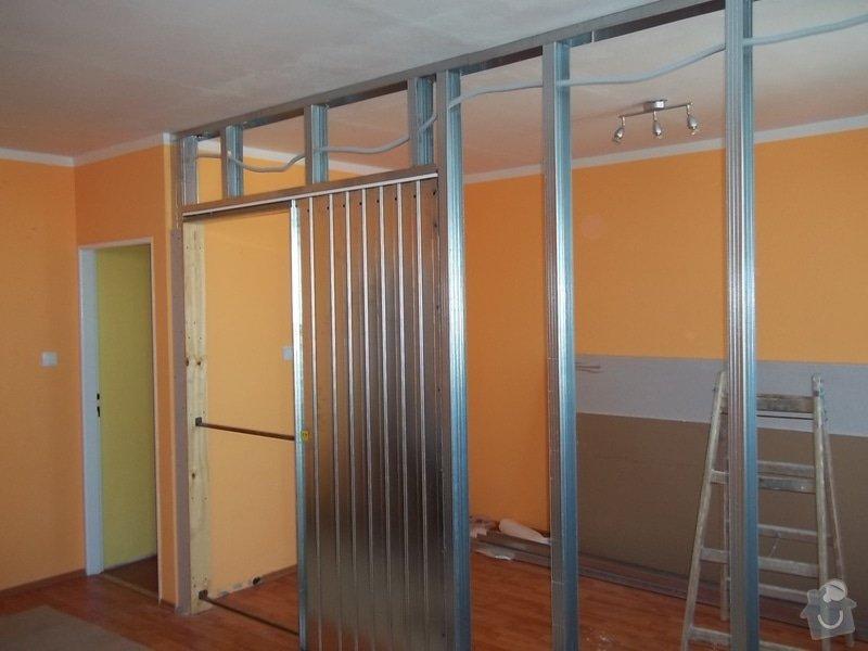 SDK příčka se zašupovacími dveřmi: 104_0386