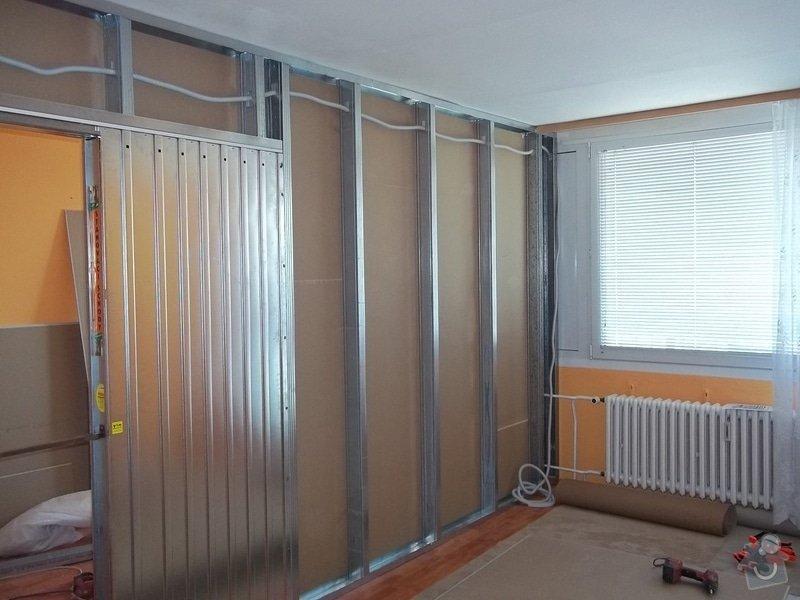 SDK příčka se zašupovacími dveřmi: 104_0387