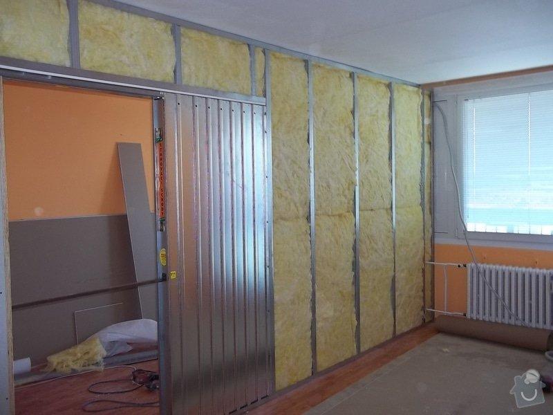 SDK příčka se zašupovacími dveřmi: 104_0388