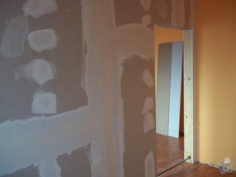 SDK příčka se zašupovacími dveřmi: 104_0392