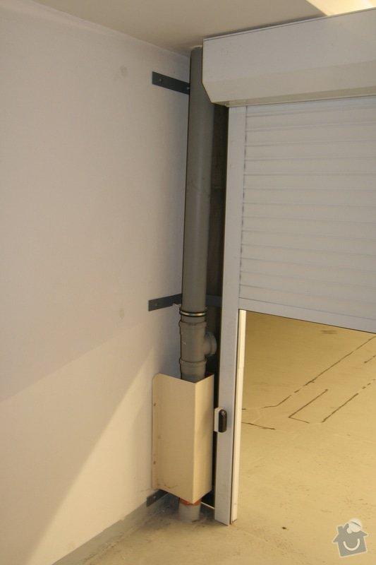 Garážová vrata v podzemní garáži: garaz_konstrukce