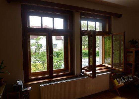Nová špaletová okna a dveře