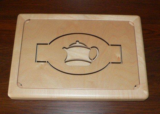 Čabon - čajový tác