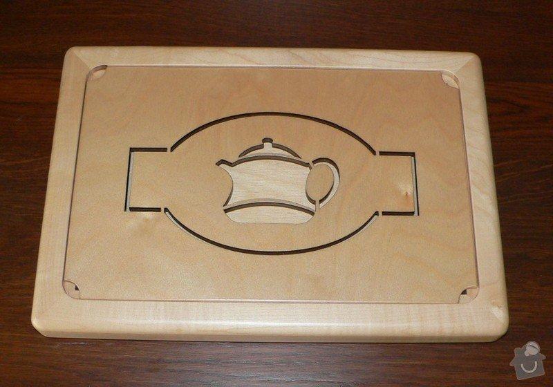 Čabon - čajový tác: konvickarna