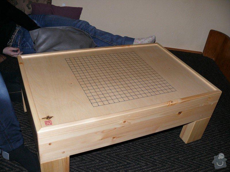 Vybavení čajovny: stolek_Go