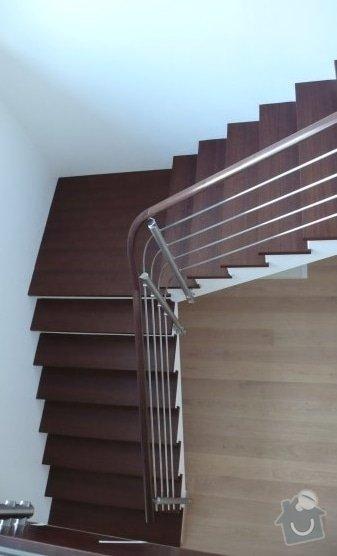 Obklad betonovych schodu: schody