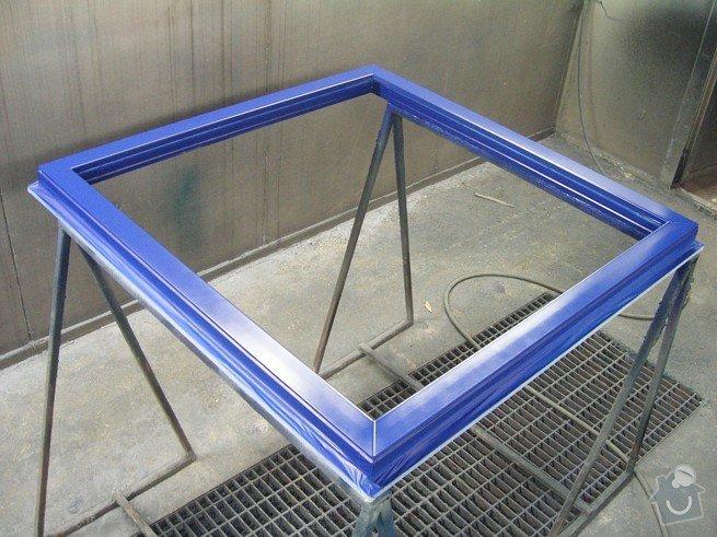 Lakování profilů plastových oken: KIF_5601