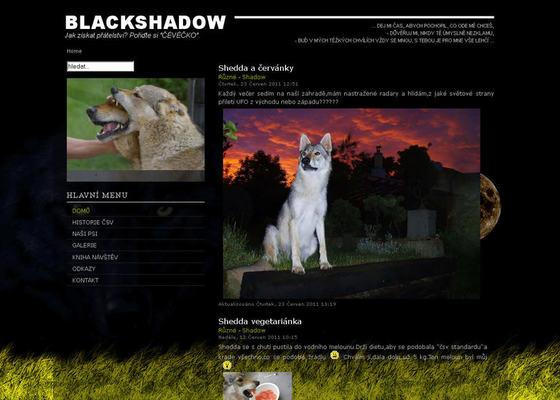 Vytvoření webových stránek pro prezentaci chovu Československých  vlčáků