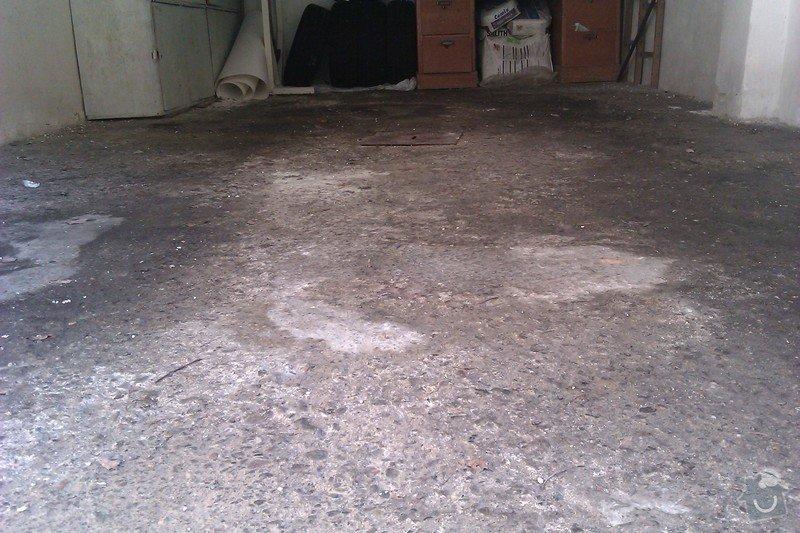 Střecha řadové garáže: IMAG0052