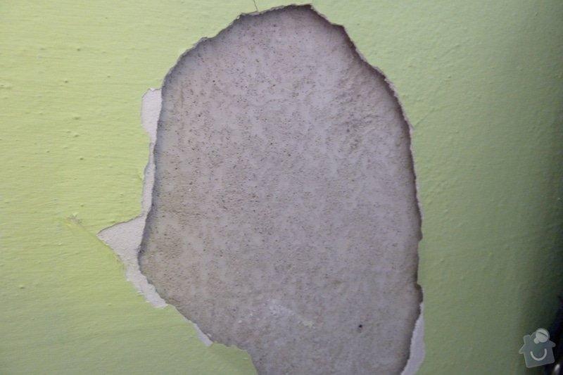 Zednické, štukatérské práce  ( 1 pokoj): P1000955