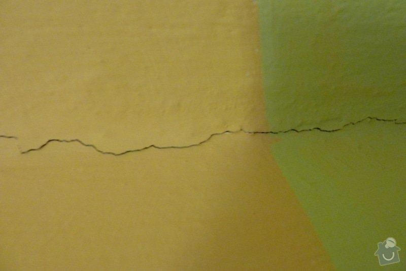 Zednické, štukatérské práce  ( 1 pokoj): P1000957
