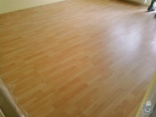 Pokládka plovoucích podlah: 0713111300-01