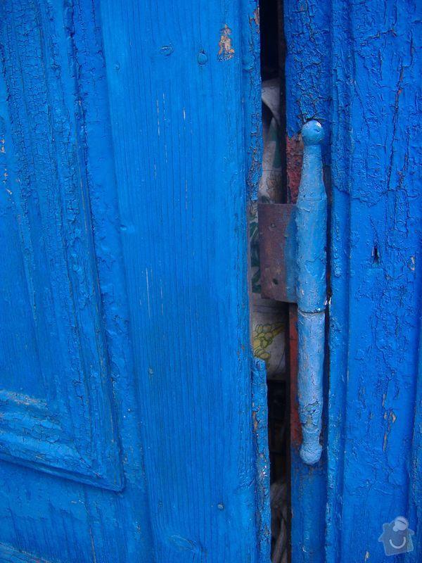 Tesař - oprava dveří na půdu: dvere-puda-1