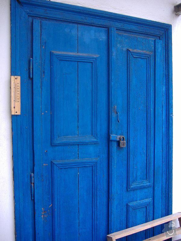 Tesař - oprava dveří na půdu: dvere-puda-3