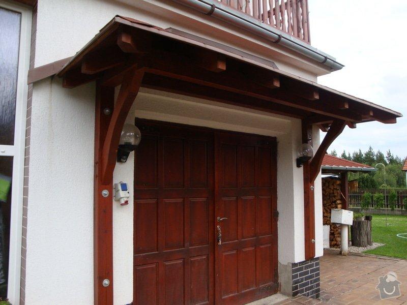 Příštřešek nad garážová vrata: DSC04387