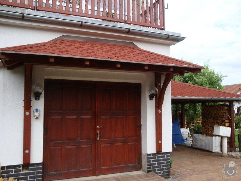 Příštřešek nad garážová vrata: DSC04388