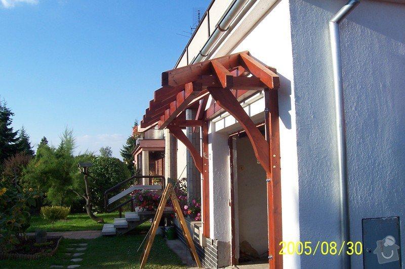 Příštřešek nad garážová vrata: prace_033