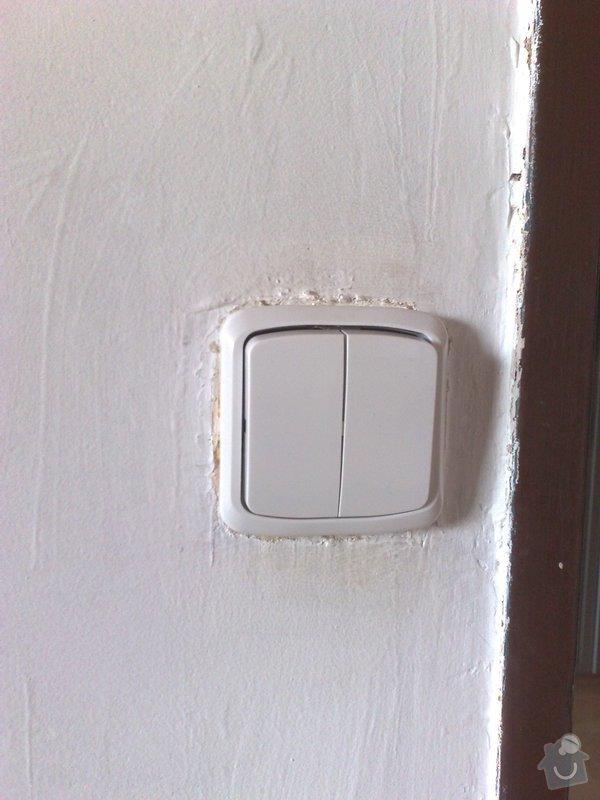 Výměna starých zásuvek a vypínačů s montáží světel: 16072011671